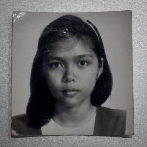 Josie in 1987