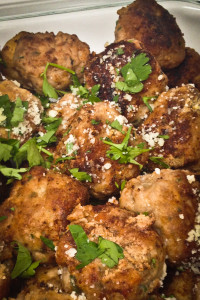 Here's a shot of my recent batch of Sal's Old School Meatballs