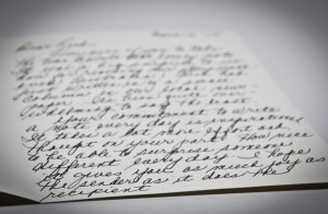 The letter from Mr. and Mrs. Bresnan