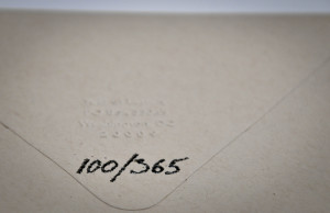 I've been embossing the letter numbers on some of the envelopes.
