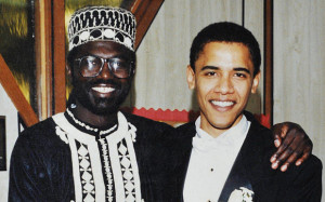 A young Barack Obama, right, with his half brother, Abongo Photo: telegraph.co.uk