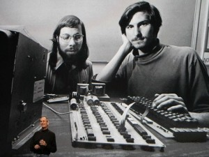 Wozniak and Jobs circa 1976 Photo: BusinessInsider.com