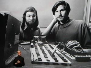 Wozniak and Jobs circa 1976 Photo: BusinessInsider.com