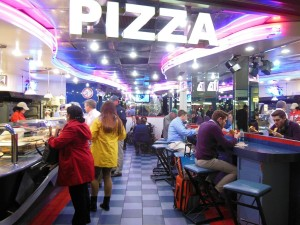 Don Pepi's Pizzeria at Penn Station.